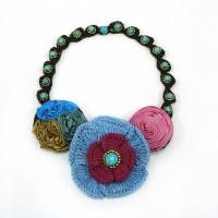 สร้อยคอดอกไม้โครเชต์ 08-MIX02