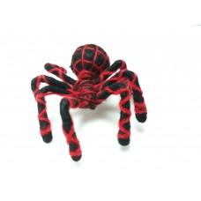 ตุ๊กตาตกแต่งรูปแมงมุมสีดำ