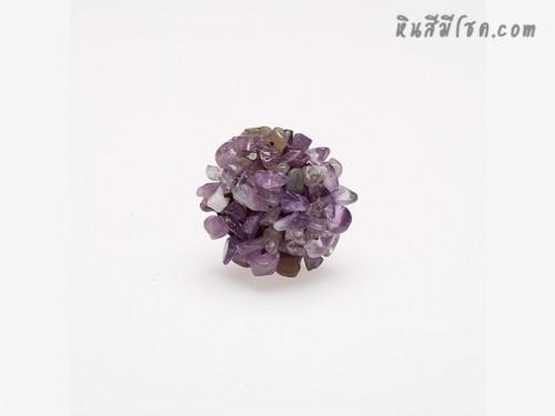 แหวนหินพุ่ม (อเมทิสต์)