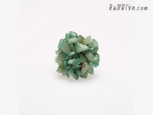 แหวนหินพุ่มเขียวหยก