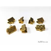 บานพับกระเป๋า 10*7 มิล สีทอง (4 ชิ้น)
