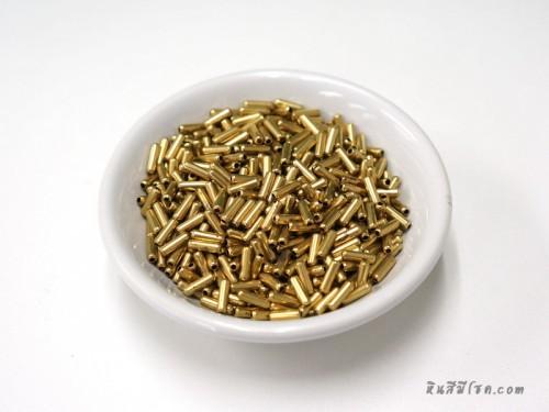 เม็ดทองเหลืองแท่ง 2*7 มิล (20 กรัม)