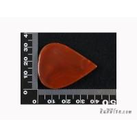 หินอาเกตหยดน้ำ 30*40 มิล สีส้ม (1เม็ด)