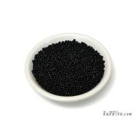 ลูกปัดกลม 1.5 มิล สีดำ (20 กรัม)