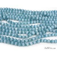 แก้วตาแมว 10 มิล สีฟ้าทะเล