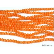 แก้วตาแมว 6 มิล สีส้ม