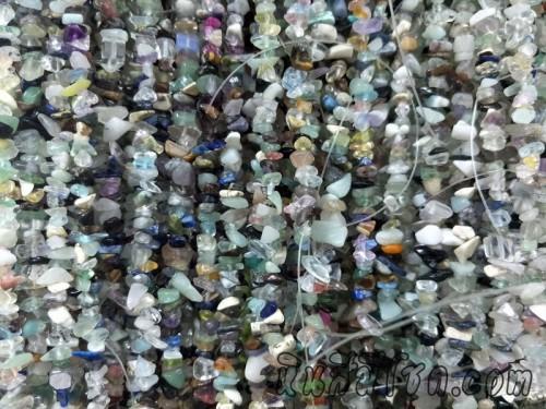 หินแตก แก้วแตก คละสี2