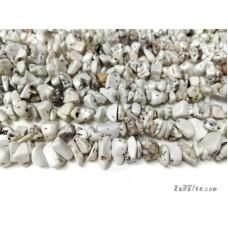 หินแตกฮาวไลท์สีขาว