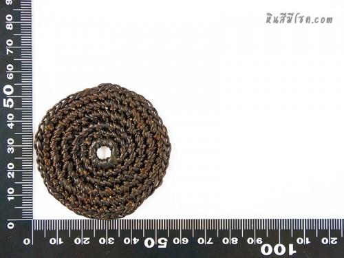แป้นวงกลม 5 cm สีน้ำตาล