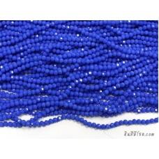 คริสตัลกลม 4 มิล สีน้ำเงินอมม่วง