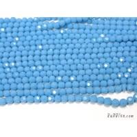 คริสตัลกลม 6 มิล สีฟ้าเข้ม