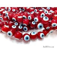 อีวิลอายส์ 10 มิล สีแดง