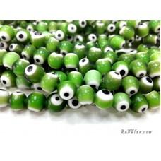 อีวิลอายส์ 10 มิล สีเขียว