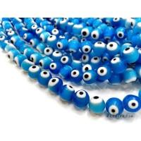 อีวิลอายส์ 10 มิล สีฟ้า
