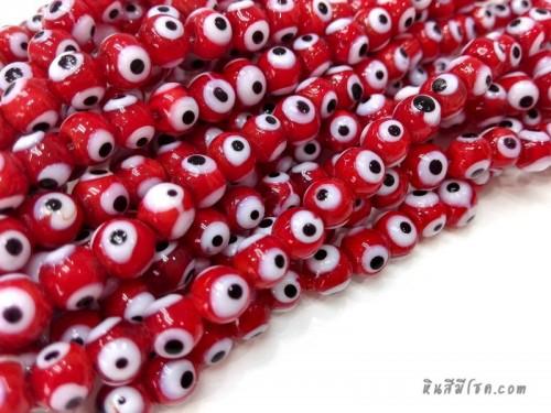 อีวิลอายส์ 6 มิล สีแดง