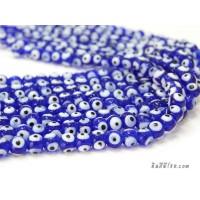 อีวิลอายส์ 8 มิล สีน้ำเงิน