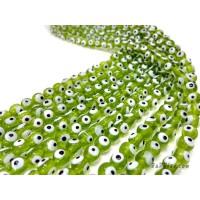 อีวิลอายส์ 8 มิล สีเขียว