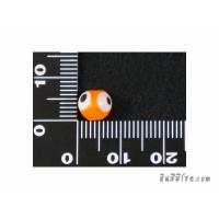 อีวิลอายส์ 8 มิล สีส้ม