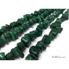 หินฟรีฟอร์ม สีเขียว