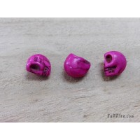 หินฮาวไลท์หัวกระโหลกสีชมพู