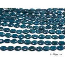 หินทรงรี 13*18 มิล สีฟ้าคราม