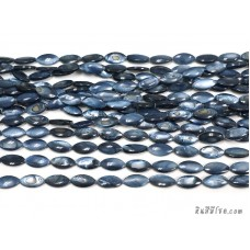 เปลือกหอยแหลม 8*17 มิล สีน้ำเงินเข้ม