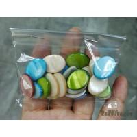 เปลือกหอยทรงรี 13*18 มิล คละสี (20 เม็ด)